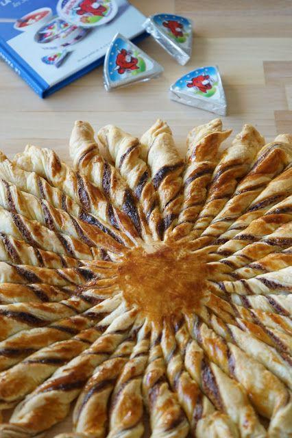 The Cook Time: Tarte Soleil Vache qui rit, jambon, gruyère et mou...