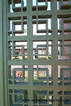 Awesome Dekorativer Beton, Zement, Mitte Des Jahrhunderts, Außenbereich