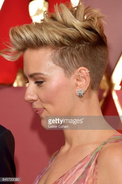 Actress Scarlett Johansson attends the 89th Annual Academy Awards at Hollywood & Highland Center on February 26, 2017 in Hollywood, California.