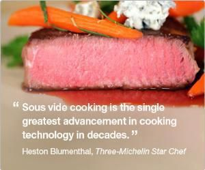Think you can't cook an awesome steak in your Thermomix? Between your Thermy and your BBQ...well according to Heston you can make THE m...