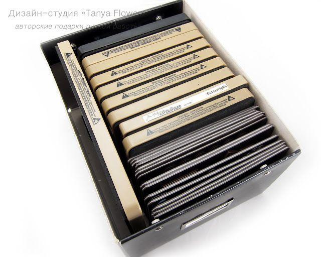 Хранение ножей для вырубной машинки - фото мастер-класс - Ярмарка Мастеров…