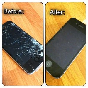 How to Replace a Broken iPhone Screen: This repair was just $25 and a few hours of @Spencer Fornaciari Sokol's time.