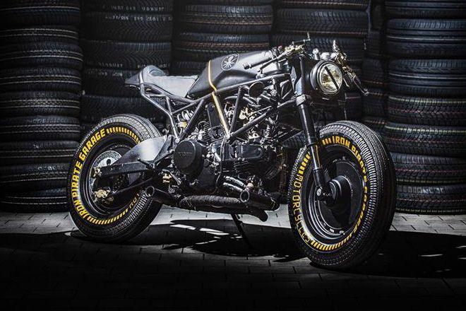 Ducati 750 SS Kraken by Iron Pirate Garage