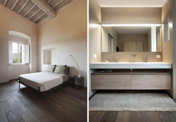 XV century farm villa renovation | by Paolo Mori and Simone Carloni from Studio CMTarchitects