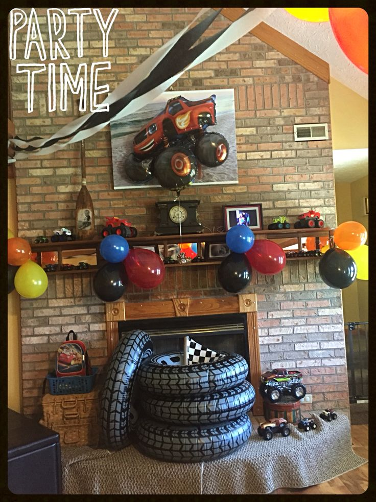 25 Best Ideas About Monster Truck Party On Pinterest