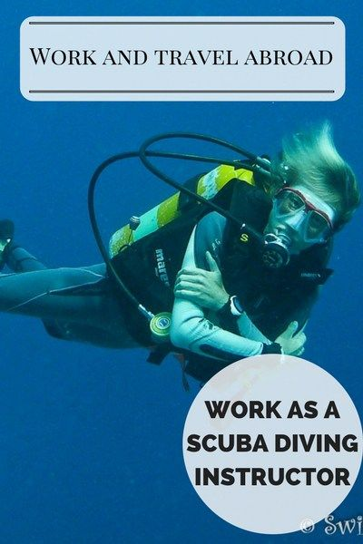Work as a scuba diving instructor
