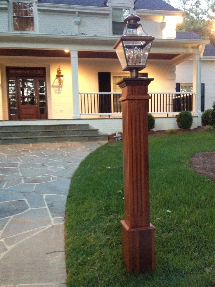 16 best lamp post images on Pinterest | Exterior lighting ...