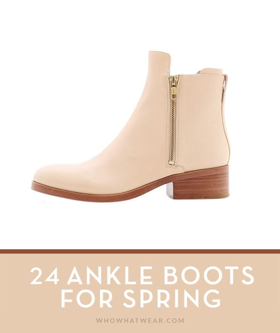 24 Ankle Boots for Spring // #Shoes #Shopping