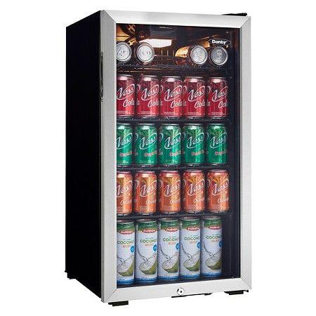 Danby 3 3 Cu Ft Mini Refrigerator Dbc120bls Target