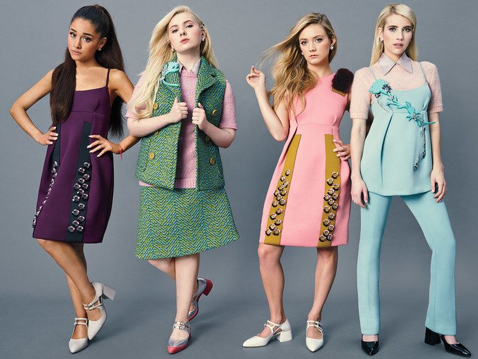 Meet Ryan Murphy's Scream Queens Sorority from Hell | Vanity Fair