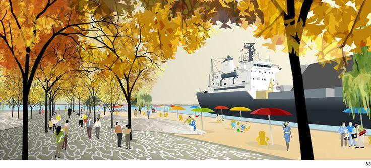 claude-cormier-sugar-beach-toronto-10 « Landscape Architecture Works | Landezine