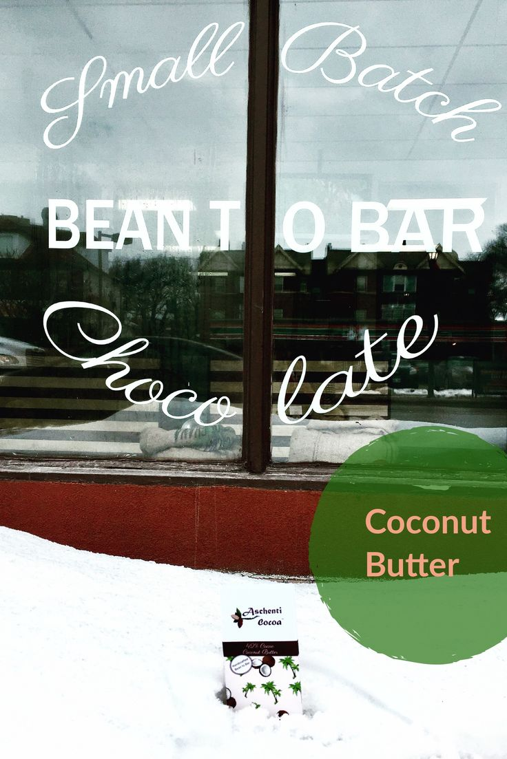 What's there not to love about coconut? It gives us shiny hair, smooth skin... and its real delicious too!  Indulge in our 42% cacao  bean to bar blended with coconut!  It's just what you need today, especially with the return of the snow. ❄️ winnipegchocolate.ca