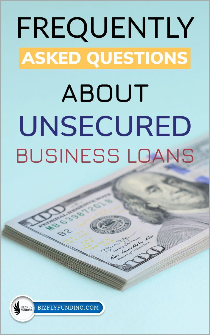 Unsecured Small Business Loans In 2020 Small Business Loans Business Loans Bad Credit Personal Loans