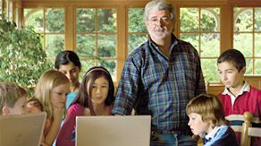 """""""Education is the foundation of our democracy--the stepping-stones for our youth to reach their full potential."""" --George Lucas The George Lucas Educational Foundation--check it out!!"""
