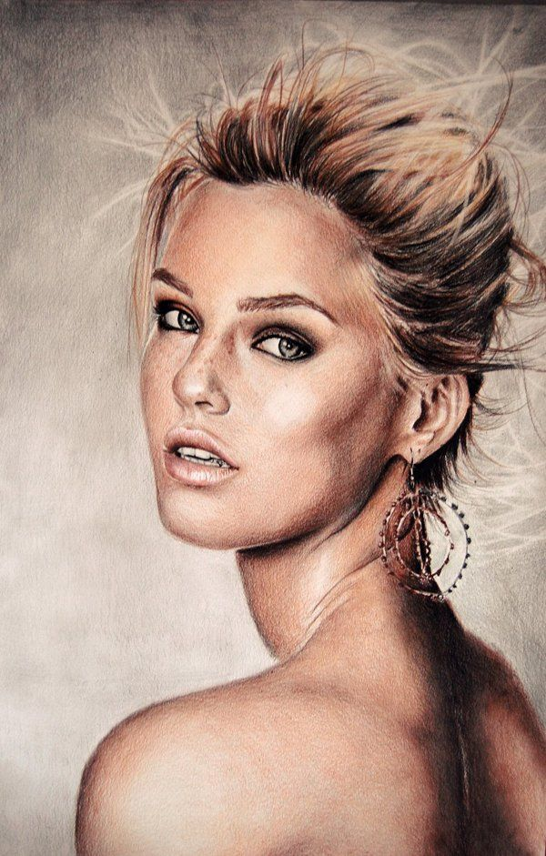 Bar - Colour Pencil Drawings by Valentina Zou  <3 <3