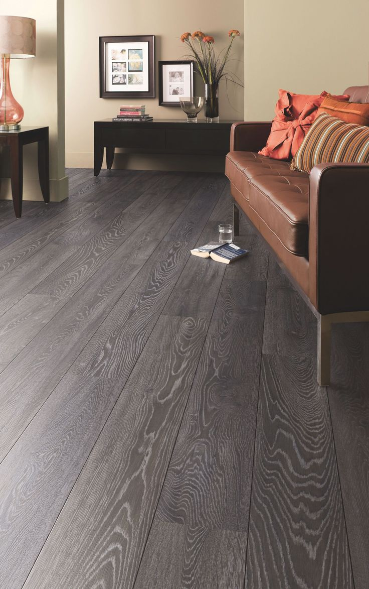 25 best grey flooring ideas on pinterest grey hardwood - Grey wood floors modern interior design ...