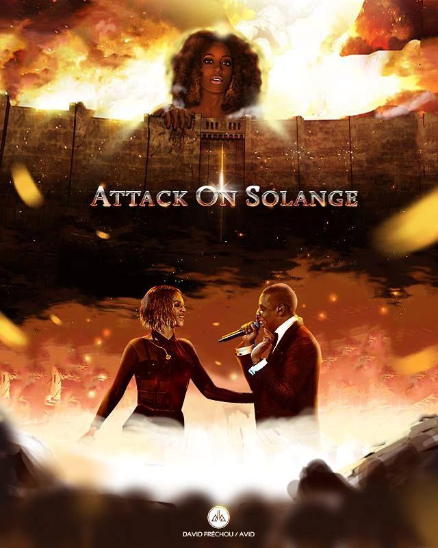 Attack On Solange by avid971 on DeviantArt