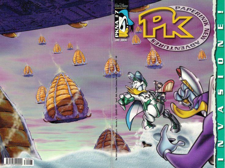 Cover for Pk Paperinik New Adventures (The Walt Disney Company Italia, 1996 series) #7