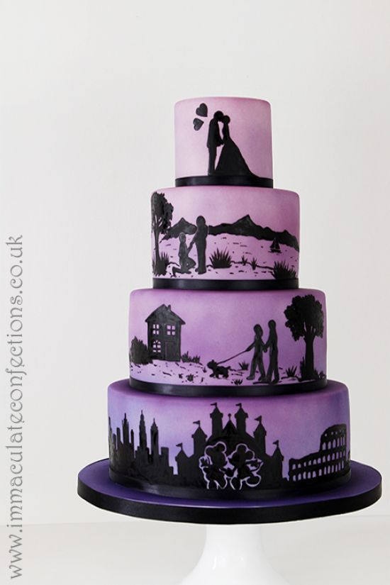 wedding cake awards 25 best ideas about silhouette wedding cake on 21768