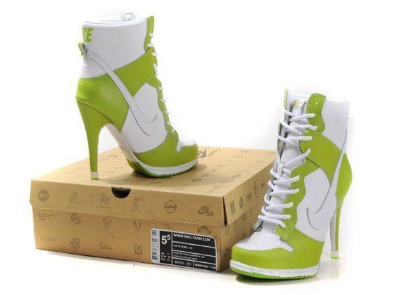 Nike high heels weird