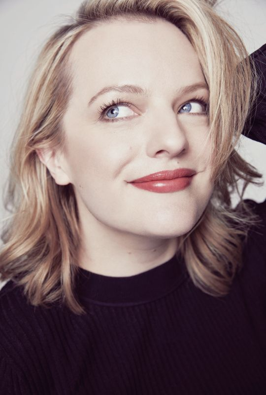Elisabeth Moss photographed for Variety.