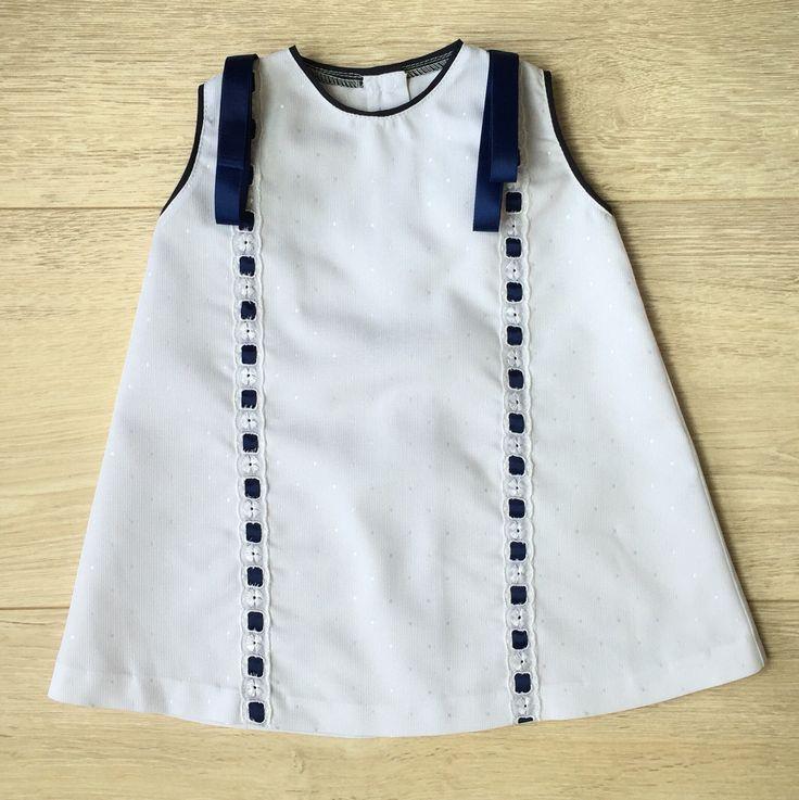 Hermosos vestidos estilo español para niñas // disponibles en tallas 6M-12M y 24M  whatsapp 818 029 9977 / info@luciavillarreal.com // www.littlelux.com.mx