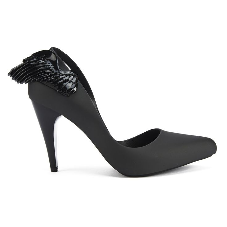 Melissa Vivienne Westwood Wings Vivienne Westwood for Melissa Women's  Classic Angel Wing Heeled Courts - Black Wing