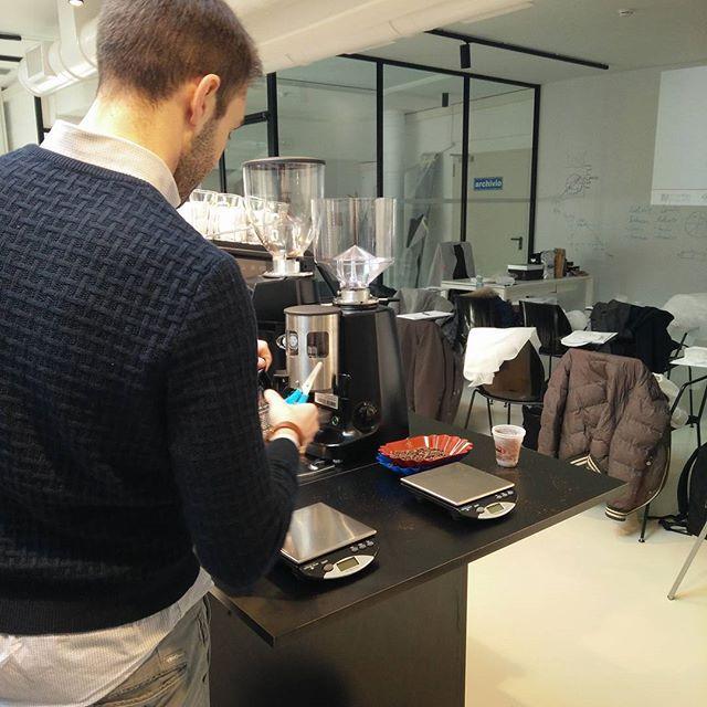 Giornata formativa... Impariamo a farvi un caffè sempre più buono! #mybelsoggiorno #procaffe #bristot