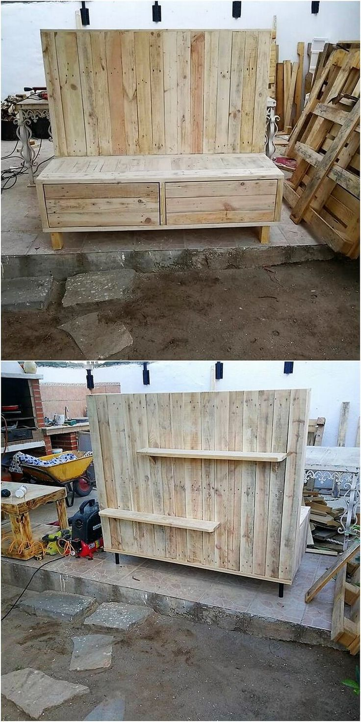 Functional and Easy to Build Wood Pallet