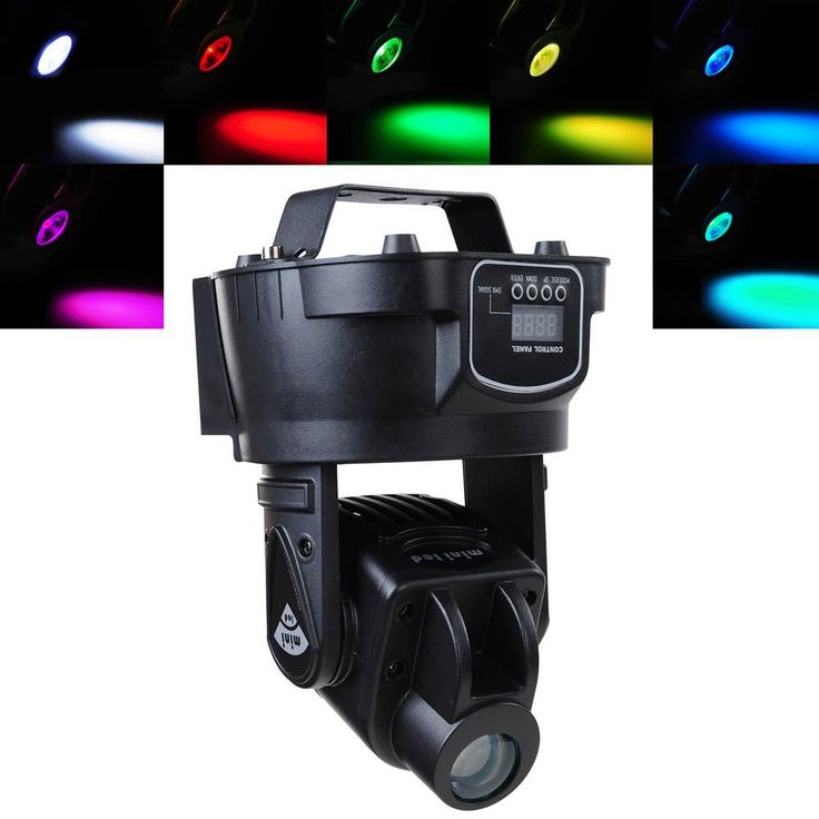 15w Mini Moving Head Stage LED Spot Light DJ DMX Lighting