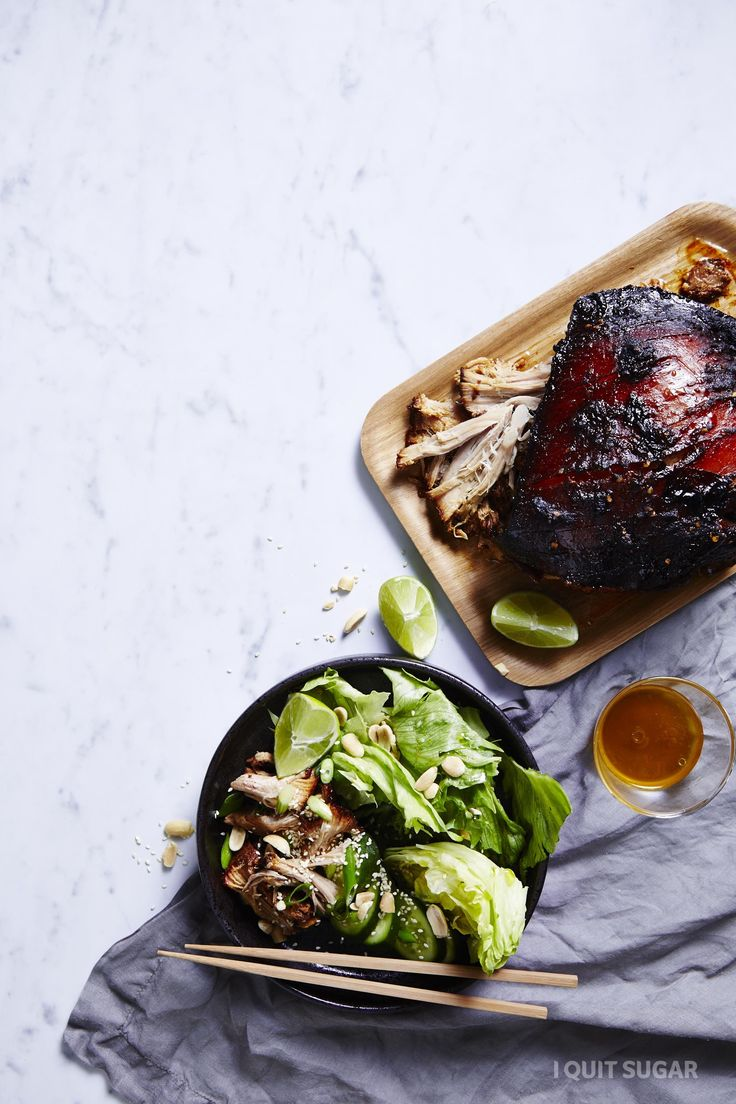 Can you guess this dish? Korean Pork Shoulder with ?? It's very tasty and full of exciting flavours! – I Quit Sugar