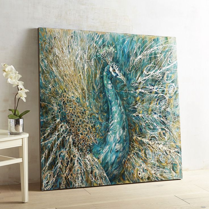 Dazzling Peacock Art 866 best Decor u003e