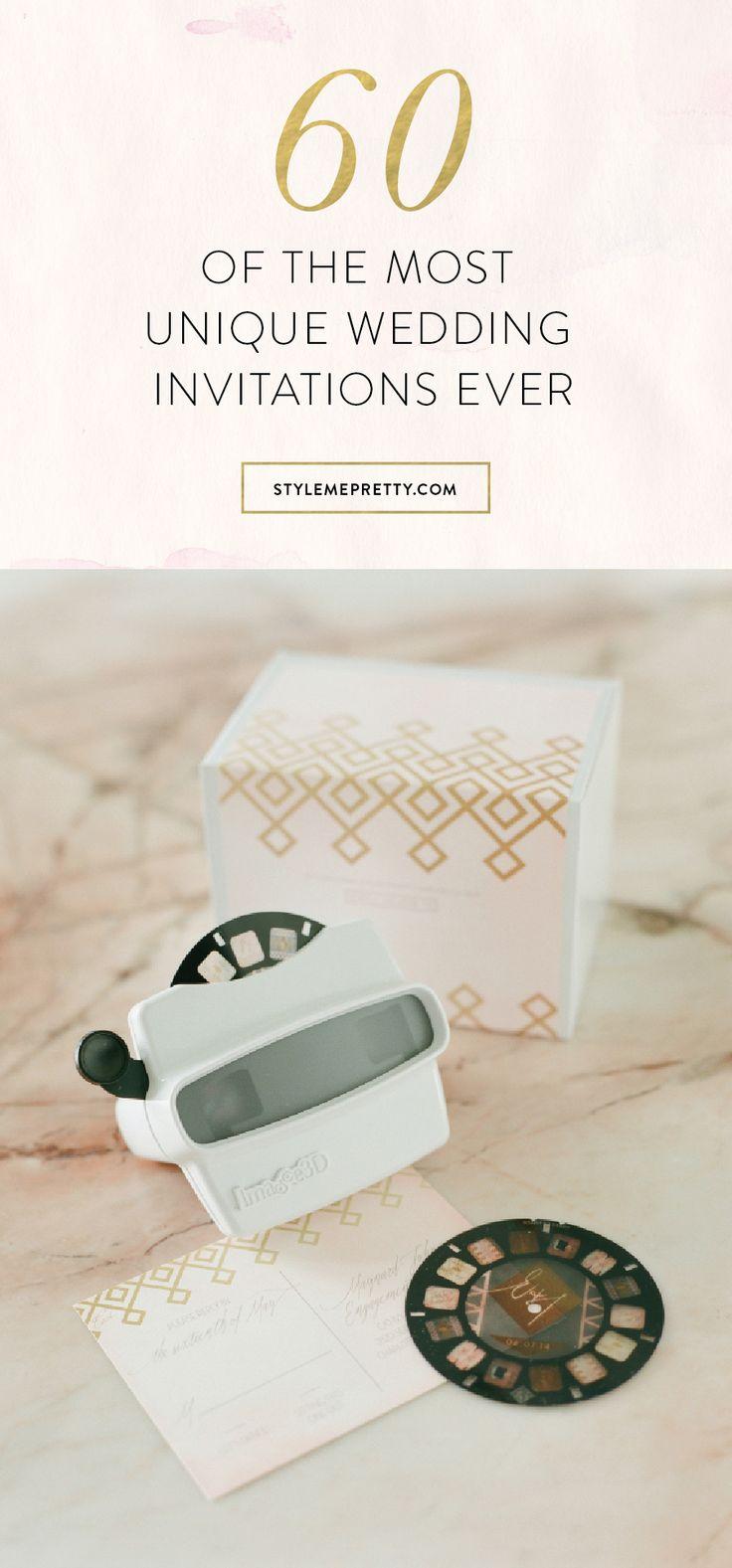 Best 25+ Unique wedding invitations ideas on Pinterest ...