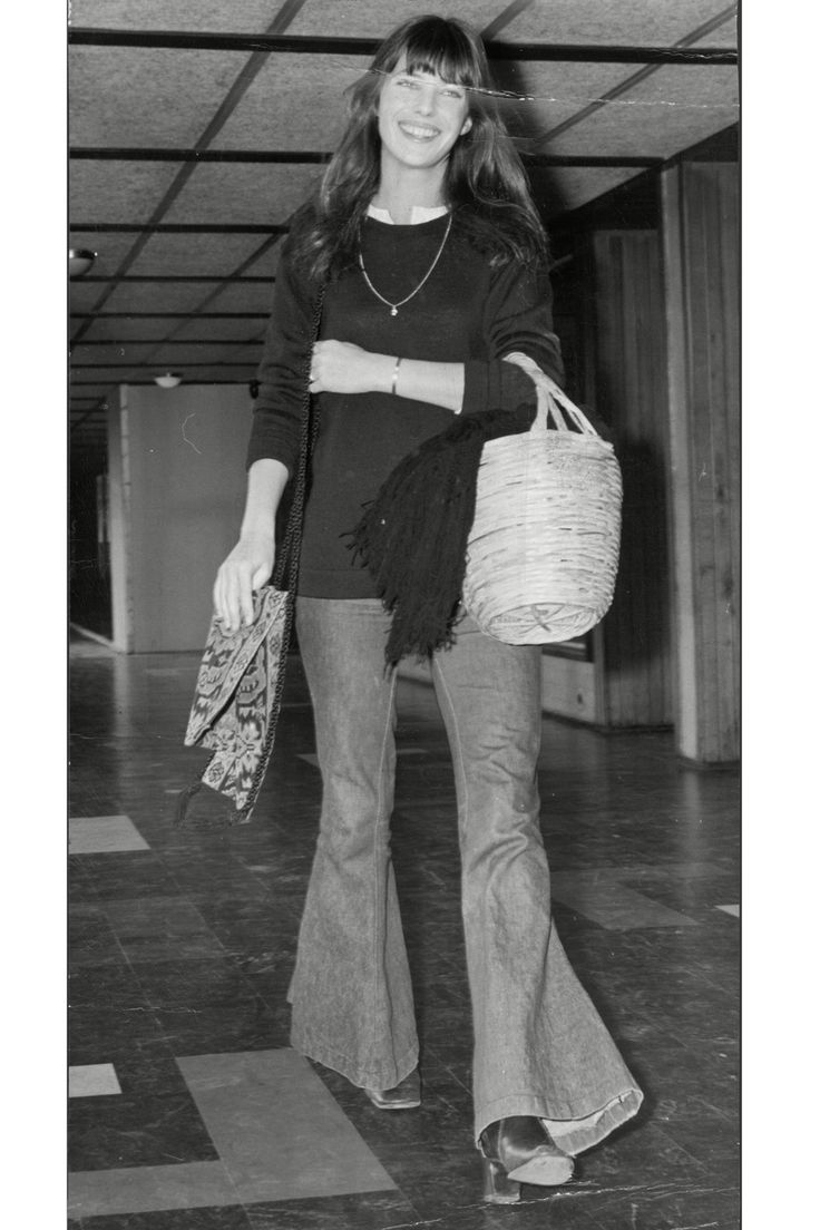 From off-the-shoulder shirts to wide-leg trousers, the 27 ways in which Jane Birkin's iconic style has inspired our wardrobes...