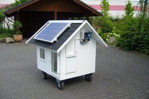 Modell Schwedenhaus - Hühnerhaus Mobil