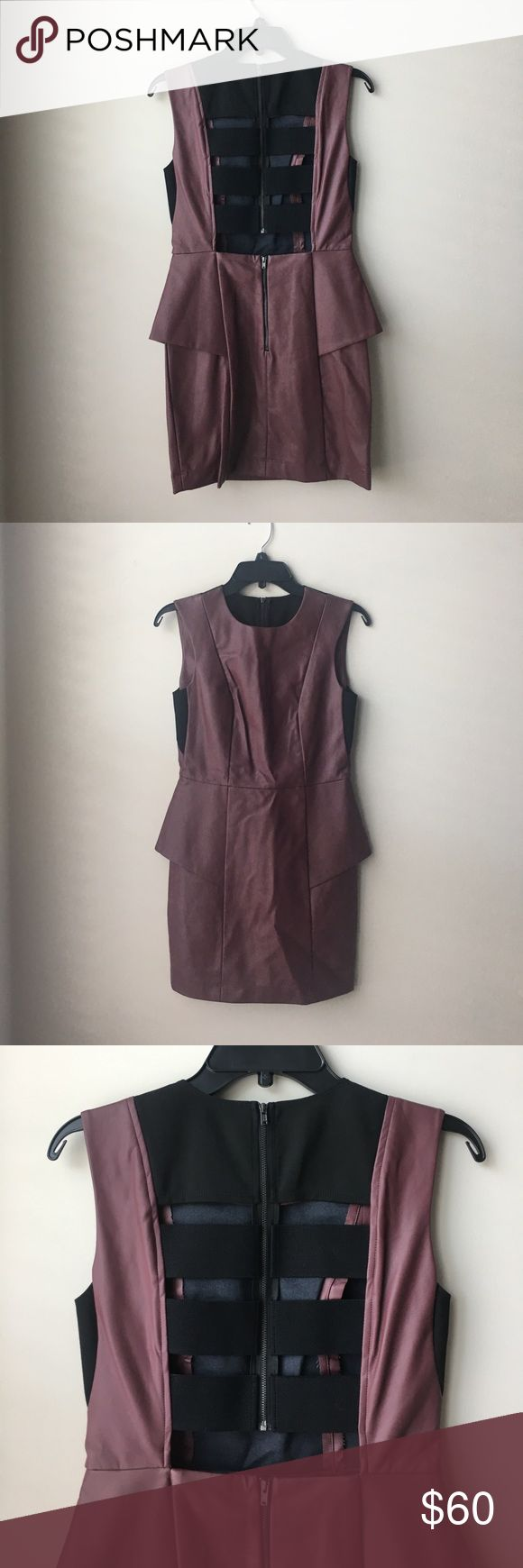 BCBGeneration dark saffron peplum dress NEW sz 4 BCBGeneration dark saffron peplum dress NEW sz 4, brand new with tags, original price $128, refer to last photo for picture of tags BCBGeneration Dresses Mini