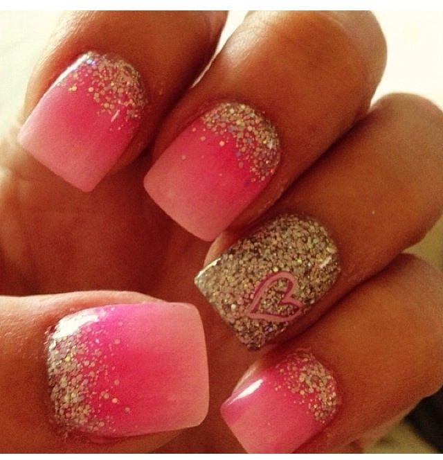 Love these nails so much! I'm pretty sure they're fake though....