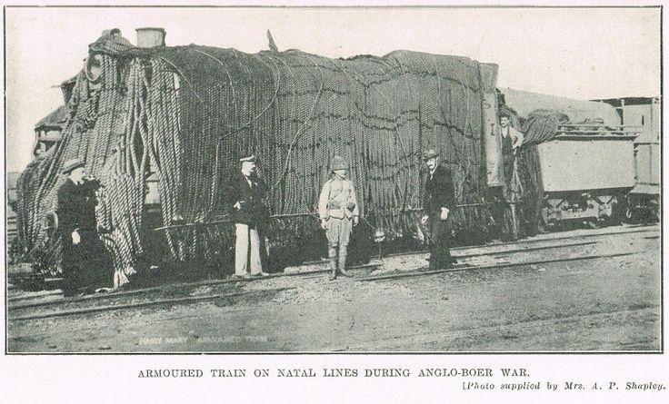 Boer War -- A British armoured train