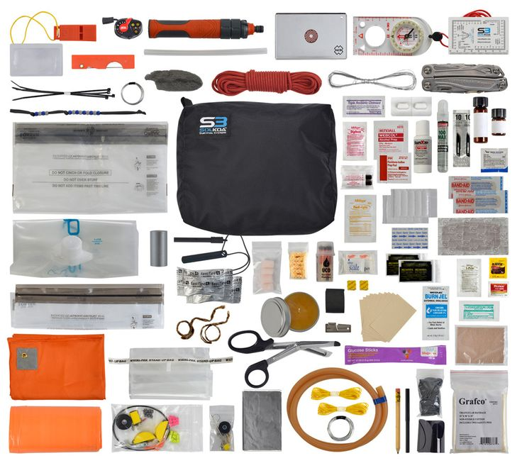 Pro Survival Kit - serious survival gear at 5col Survival Supply