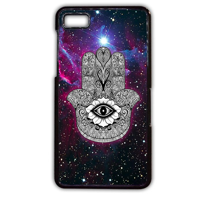 Hamsa Galaxy Nebula Blackberry Phonecase For Blackberry Q10 Blackberry Z10