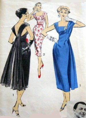 1950s wiggle dress, cocktail dresses