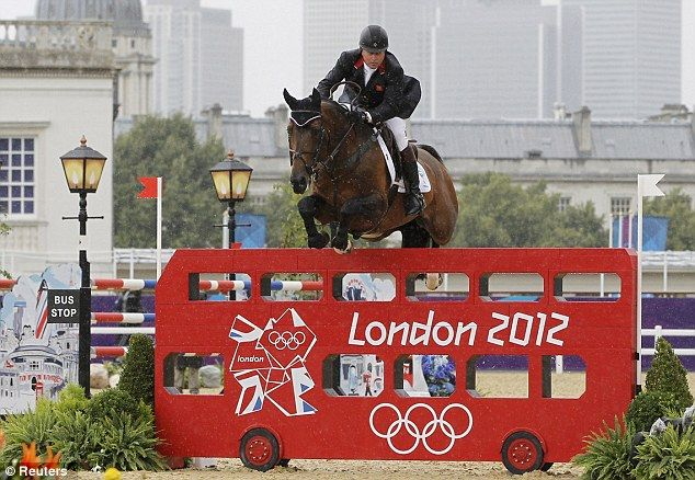 Nick Skelton of Great Britain was penalty free on Big Star during the jumping in the equestrian
