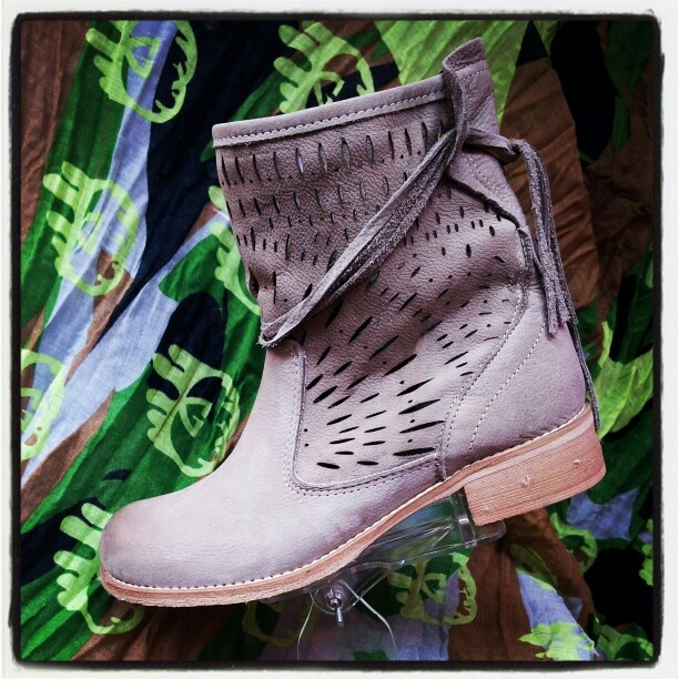 new arrivals spring summer 2013:  ankle boots in suede #ankle #stivali #spring #summer #fashion #style #love