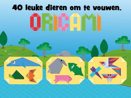 """Wat leert je kind bij het vouwen (origami)? Ruimtelijke oriëntatie: je kind oefent met begrippen als """"op elkaar"""", """"tegen elkaar"""", """"zijkanten"""" en ook natuurlijk de verschillende vormen. Motorische…"""