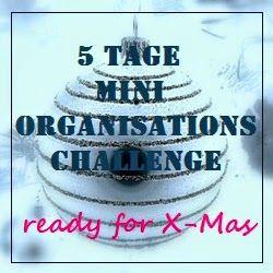 @vontagzutagmari 5 Tage Mini Organisations Challenge: Vorbereitung auf Advent und Weihnachten http://vontagzutag-mariesblog.blogspot.co.at/