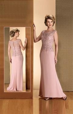 Jewel Sheath Sweep/ Brush Train T-shirt Mother's #Dress Style Code: 01844 $89