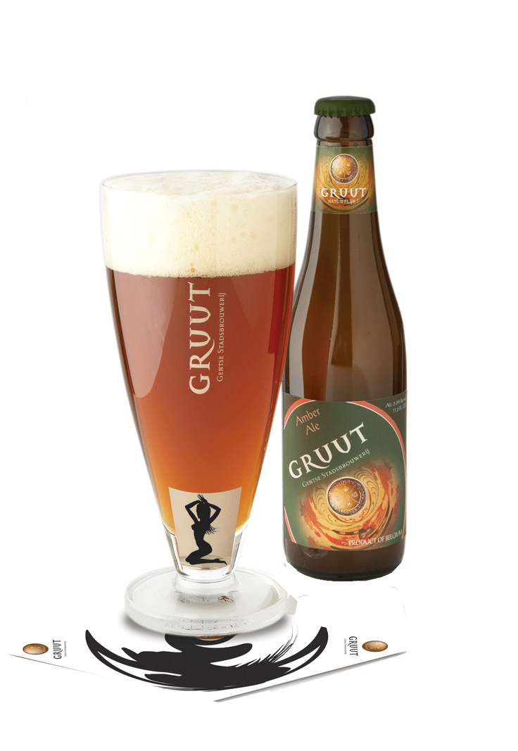 Gruut  Amber, Gentse stadsbrouwerij 6.6%, 8/10 Nice soft amber beer. Yummi