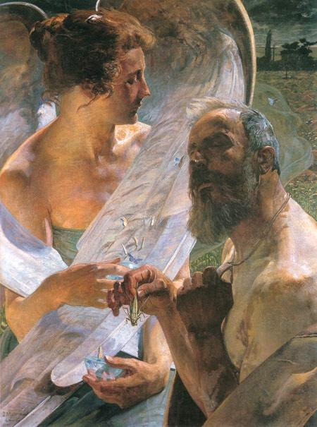 Jacek Malczewski - Resurrection (1920)