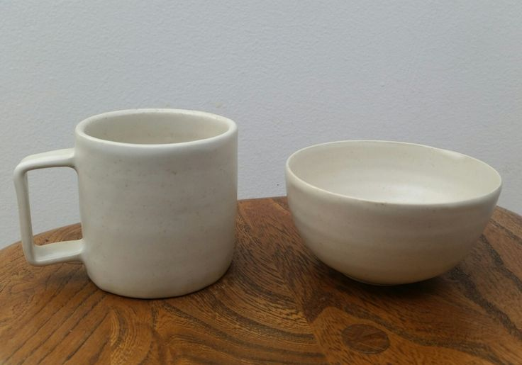 Some pottery I made at Arran Street East.