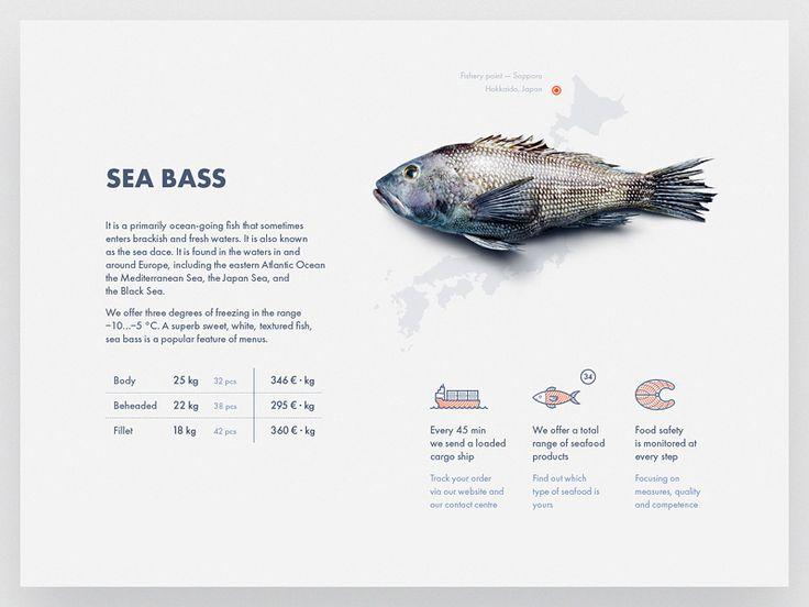 Web part 12 Rostfish by Aleksey Belikov #Design Popular #Dribbble #shots